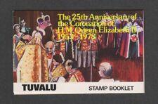 Tuvalu - 1978, Coronation Booklet - MNH - SG 89/92
