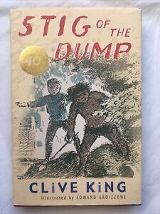 Hardback Stig of the Dump,Clive King, 40th anniversary edition puffin classics