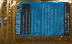 Tear Aid Typ A Wasserbett Reparaturset PVC Vinyl Klebeband Wasserdicht Luftdicht