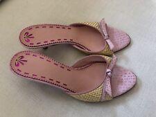 Brand New Rafia Sandals By Ungaro