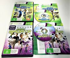 MICROSOFT XBOX 360 GAMES | KINECT SPORTS & KINECT SPORTS SEASON TWO | COMPLETE