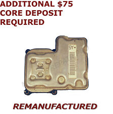 REMAN 01 02 03 04 05 Chevy Silverado 1500 ABS Pump Control Module EBCM >EXCHANGE