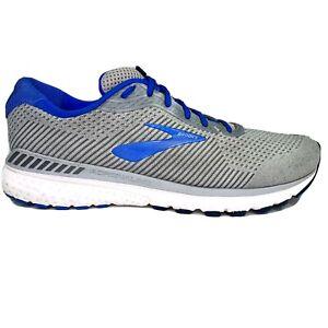 Brooks Mens Adrenaline GTS 20 XX Gray Blue Running Shoes Size 13 W 2E