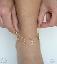 Anklet Rare New Release Summer! Paparazzi ~Sand and Sunshine - Gold~