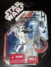 Star Wars Imperial Stormtrooper #20 Figura de Acción 30TH Anniversary + Moneda Nuevo