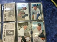 11 Different 1964 Topps GIANT cards lot of 11