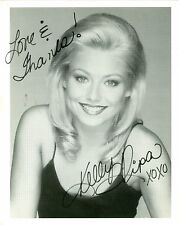 Kelly Ripa autographed 8x10 black and white photo hand signed