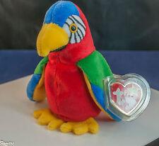"Beanie Babies ""1997 JABBER"" TY Attractive Bird 10/10/1997 TAG  ERROR 1998 New"