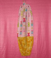 Handmade Grocery Bag/Rag Dispenser Dress Forms - Multi color