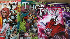 Avengers Comic lot THOR MIGHTY 2011 1-33 12.1 annual 1