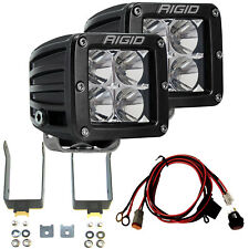 RIGID LED Fog Light Kit w/ D-Series PRO Lights for 99-16 Ford F250 F350 46503