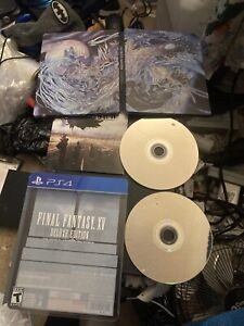 Final Fantasy XV Deluxe Edition Sony Playstation 4 Kingsglaive Blu Ray