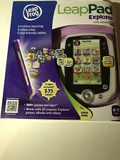 Leap Frog LeapPad Explorer - New/ Sealed - with 3 New Games/ Apps