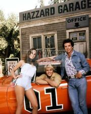 """DUKES OF HAZZARD"" CAST SCHNEIDER, BACH & WOPAT - 8X10 PUBLICITY PHOTO (RT625)"