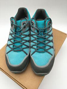 Womens Inov8 Lady Roclite 282 Trail Shoes UK size 7 Blue Excellent Condition