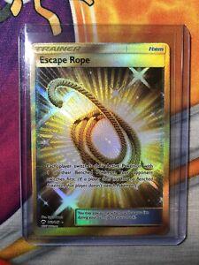 Escape Rope 163/147 Gold Secret Rare Burning Shadows Pokemon Near Mint