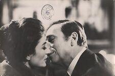 """ANOUK AIMEE & YVES MONTANA in """"Un Soir, Un Train"""" - Original Vintage Photo"""