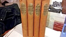 HUTCHINSON'S STORY OF THE BRITISH NATION EDITED BY W. HUTCHINSON 4 VOL. SET