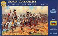 Zvezda 1:72 Saxon Cuirassiers 1810-1814 Plastic Figure Kit #8035