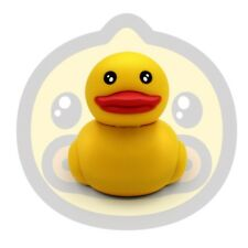 Mini Yellow Duck Cartoon Model USB2.0 8-64GB flash drive memory stick pendrive