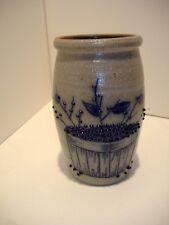 Salmon Falls Stoneware spoon jar