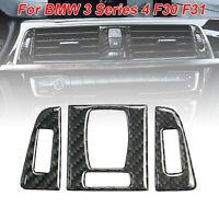 Auto Anteriore Sfiato Pannello Decoro Adesivo Accessori per BMW 3 Serie 4 F30