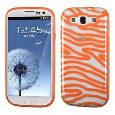 Étuis, housses et coques orange transparent pour téléphone mobile et assistant personnel (PDA) Samsung