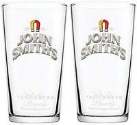 Set of 2 x John Smiths Pint Glasses 20oz Brand New 100% Genuine CE Stamped