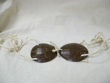 Child Genuine Coconut Shell Bra Bikini Top Hawaiian Luau Party Wear Hula Girl