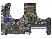 """Apple Macbook Pro A1286 820-2915-A 15"""" 2009 RIPARAZIONE SCHEDA LOGICA REBALLING"""