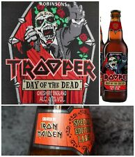 Iron Maiden PATCH Trooper Beer Day Of The Dead 2020 LIMITED EDITION Pre Order