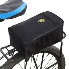 Bicycle Carrier Bag Rack Trunk Bike Back Seat Pannier Cycling Saddle Light