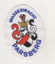 Uniform Aufnäher Patches Wasserwacht Parsberg