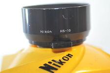 Nikon HS-10 HS 10 metal Lens 52mm hood for 85mm f/2 AIS lens vintage