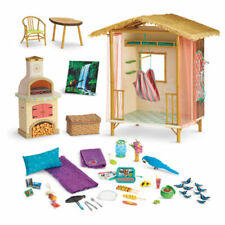 NIB ~American Girl LEA RAIN FOREST HOUSE~  Lea's Complete Furniture Hut Hammock