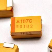 10PCS 16V 100UF D case 107C ±10% SMD Tantalum Capacitors 7343 7.3mm×4.3mm