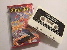 Pipeline 2/II COMMODORE 64/128 C64 C128 versión juego de cinta de cassette