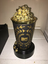 BLACK MTV Movie Popcorn Award Statue replica Moonman rare music