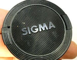 Sigma 55mm Avant Lentille Casquette Snap On Type