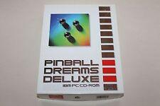 PINBALL DREAMS DELUXE Seltener PC MS DOS Flipper komplett im ORIGINALKARTON
