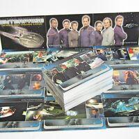 STAR TREK ENTERPRISE   81 Trading Card Set (NX-01 Jonathan Archer)