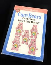 CARE BEARS CARD GAME HOW MANY BEARS? 1983 #B22