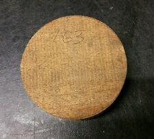 Mahogany  woodturning bowl blank  (163) (100mm x 26mm)