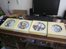Jingdezhen 4 Plates Boxed With Paper work