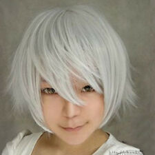2016 Multi Color Men Boy Short Straight Hair Wig Anime Party Cosplay Full Wigs