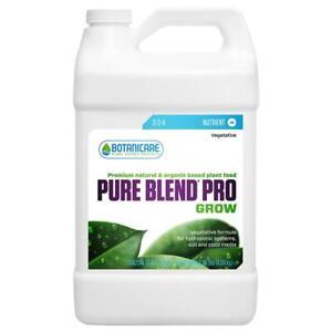 Botanicare Pure Blend Pro Grow Nutrient Natural Organic Fruit Flower Plant-3.78L