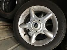 Genuine mini cooper wheel set
