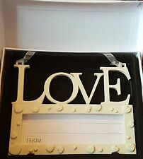 Love Wall Plaque - Write Own Personalised Message