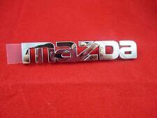 Mazda Miata 1998-2005 New OEM rear chrome Mazda logo emblem NC10-51-711