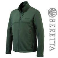 Beretta Static Fleece Jacket Green Hunting Shooting Windproof Fleece P3121